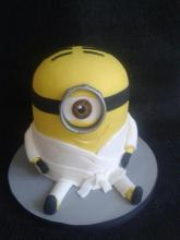 Minion Karate Gi Cake