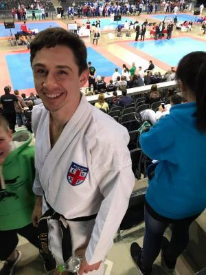 Neil finishes 4th in Kata