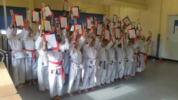 North Kent Junior Karate Gradings